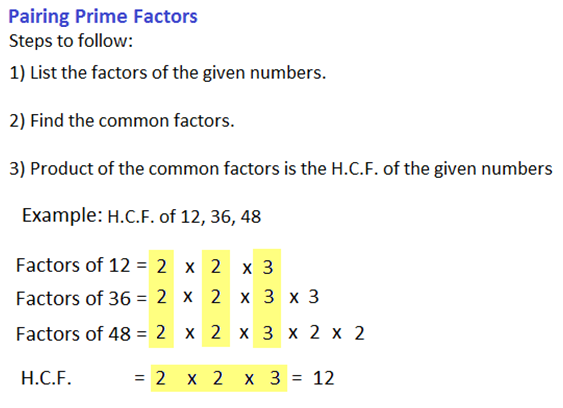 hcf and lcm of numbers 3 -62716108