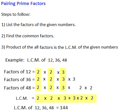 hcf and lcm of numbers 6 -96188368
